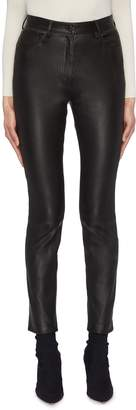 The Row 'Kate' leather pants