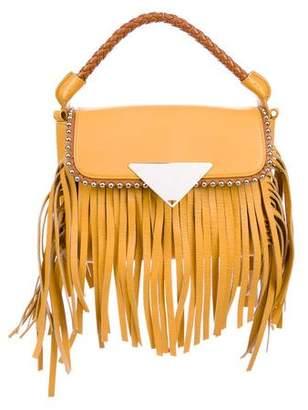 Sara Battaglia Leather Cutie Crossbody Bag