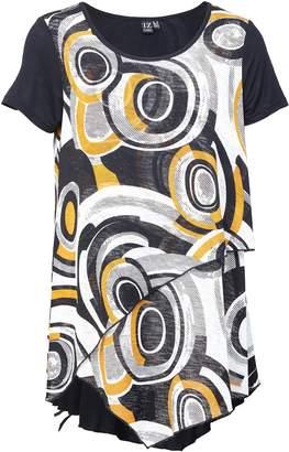 Dorothy Perkins Womens *Izabel London Multi Colour Layered Hem Tunic Top