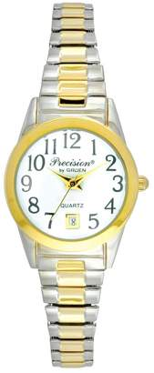 Gruen Precision By Precision by Women's Two Tone Expansion Watch