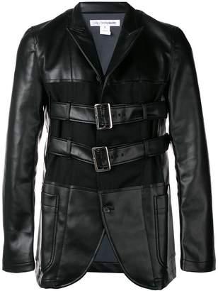 Comme des Garcons buckled jacket