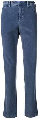 Pt01 corduroy straight leg trousers