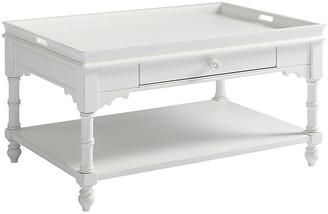 One Kings Lane Bungalow Display Coffee Table - White