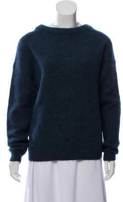 Acne Studios Wool-Blend Crew Neck Sweater