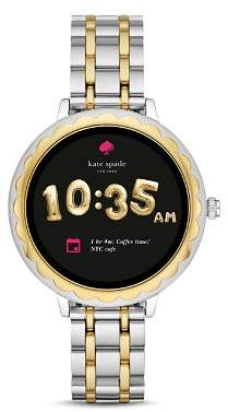 Kate Spade Scalloped Touchscreen Two-Tone Smartwatch, 41mm