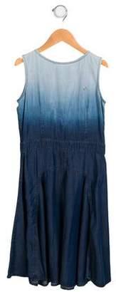 Gucci Girls' Chambray A-Line Dress