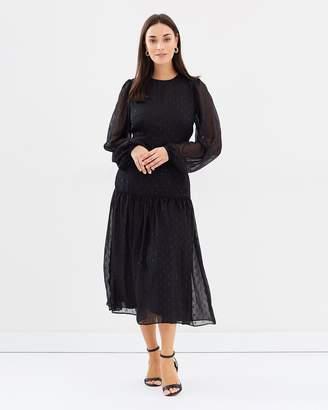Cooper St Schiffer Long Sleeve Midi Dress