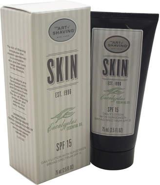 The Art of Shaving Men's 2.5Oz Eucalyptus Essential Oil Daily Lotion Spf 15