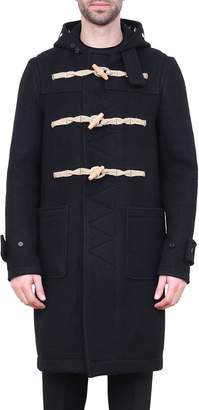 Givenchy Black Wool Montgomery