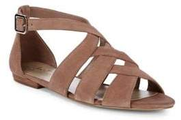 424 Fifth Mandy Suede Sandals