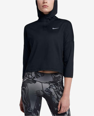 Nike Dry Element Cropped Running Hoodie
