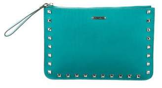 Rebecca Minkoff Spiked Leather Wristlet
