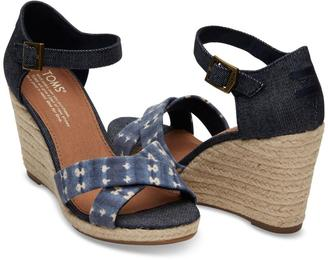 TOMS Sienna Wedge Sandal $79 thestylecure.com