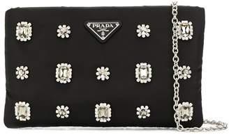 Prada zip pouch handbag