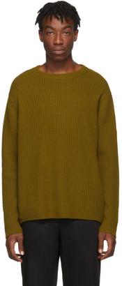 Acne Studios Brown Kelso Crewneck Sweater