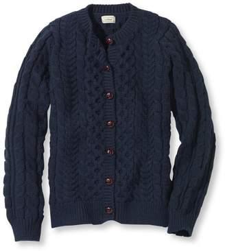 L.L. Bean L.L.Bean 1912 Heritage Sweater, Fisherman's Cardigan