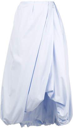 3.1 Phillip Lim draped bubble hem skirt