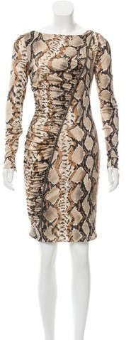 Emilio Pucci Emilio Pucci Embellished Printed Dress
