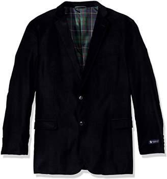 U.S. Polo Assn. Men's Big Tall Velvet Sport Coat