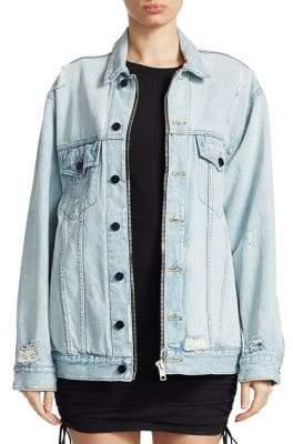 Alexander Wang Daze Oversize Denim Jacket