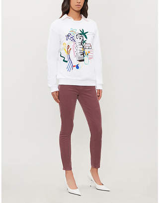 J Brand Alana skinny high-rise corduroy jeans