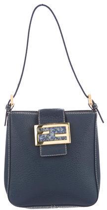 FendiFendi Leather Flap Bag