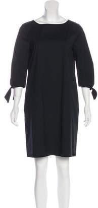 Lafayette 148 Loose Fit Mini Dress