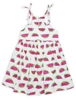 Milly Minis Girl's Watermelon-Print Tank Dress