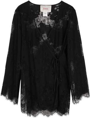 Jucca Lace Wrap-blouse