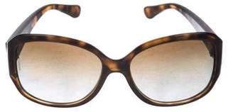 Dolce & Gabbana Polarized Tortoiseshell Sunglasses