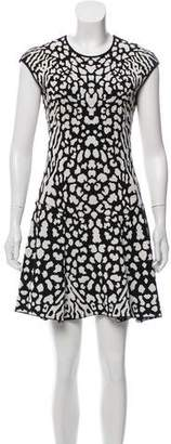 RVN Sleeveless Pattern Dress