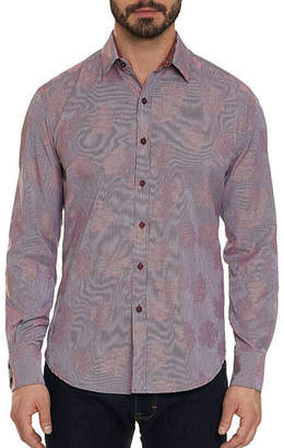 Robert Graham Men's Tomlinson Allover-Floral Jacquard Sport Shirt