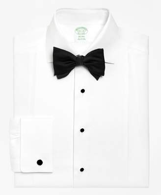 Brooks Brothers Milano Fit Bib-Front Spread Collar Tuxedo Shirt