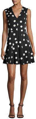 Dolce & Gabbana Polka Dot Flare Dress
