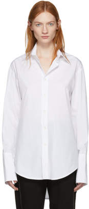 Yang Li White Big Shirt