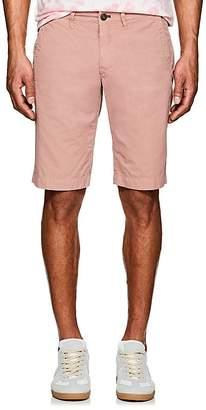 Barneys New York Men's Cotton Slim Shorts