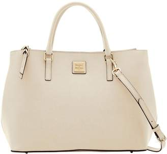 Dooney & Bourke Saffiano Willa Zip Satchel