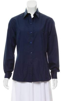 Charvet Long Sleeve Button-Up