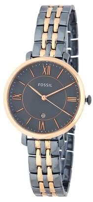 Fossil Women's Jacqueline Bracelet Watch, 34mm