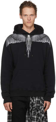 Marcelo Burlon County of Milan Black Wing Hoodie