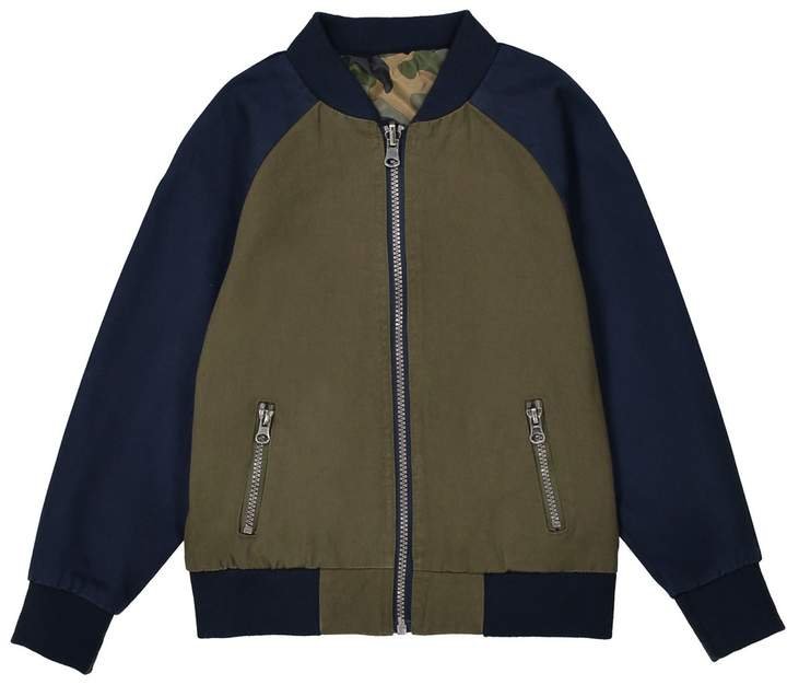 La Redoute Collections Reversible Bomber Jacket, 3-12 Years
