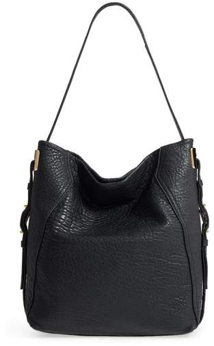 Vince Camuto Fava Leather Hobo - Black