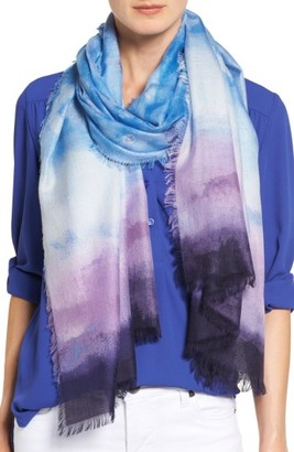 Women's Nordstrom Saharan Colorwash Cashmere & Silk Scarf $99 thestylecure.com