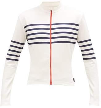 Café Du Cycliste Cafe Du Cycliste - Claudette Striped Cycle Top - Mens - White Multi