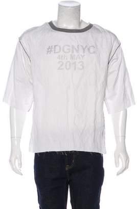 Dolce & Gabbana Graphic Woven T-Shirt