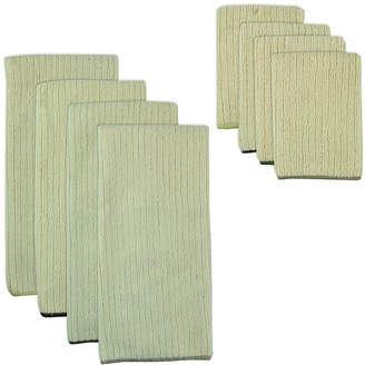 Asstd National Brand Natural Trim 8-pc. Dish Towel and Dishcloth Set