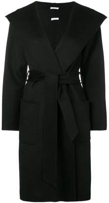 P.A.R.O.S.H. hooded midi coat