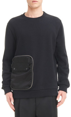 Givenchy Pocket Sweatshirt $895 thestylecure.com