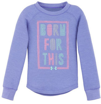 Under Armour Girls 2-6x Born For This Top $29.99 thestylecure.com