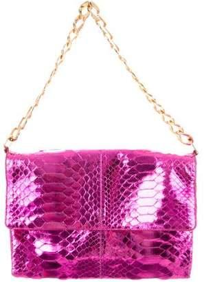 Michael Kors Python Flap Bag